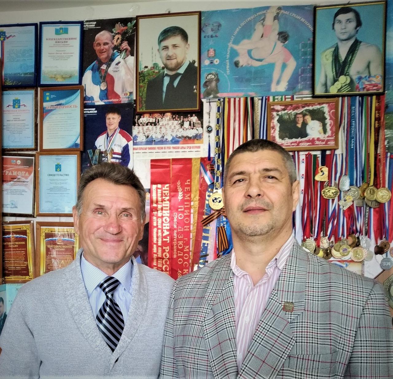 Чирков Виктор и Принц Валентин